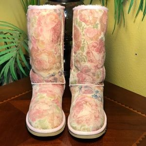 UGG Blush Classic Romantic Rose Boots